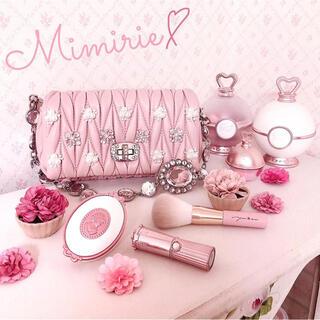 Maison de FLEUR - ビジューキルティングショルダーバッグ クリスタル ピンク おまけ付き