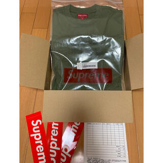シュプリーム(Supreme)のSupreme cutout logo S/S top(Tシャツ/カットソー(半袖/袖なし))