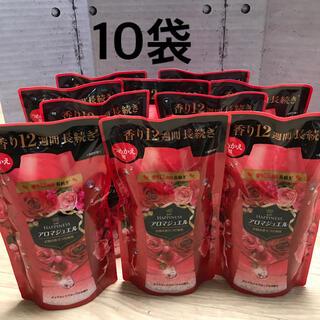 ハピネス(Happiness)の新品 10袋 レノアハピネス ダイアモンドフローラル アロマジュエル(洗剤/柔軟剤)