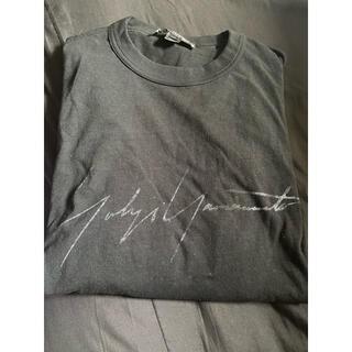 ヨウジヤマモト(Yohji Yamamoto)のyohji yamamoto tシャツ(Tシャツ/カットソー(半袖/袖なし))