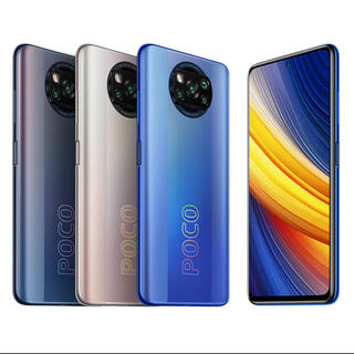 アンドロイド(ANDROID)の最新型 新品 未開封 POCO X3 Pro global version ♪(スマートフォン本体)