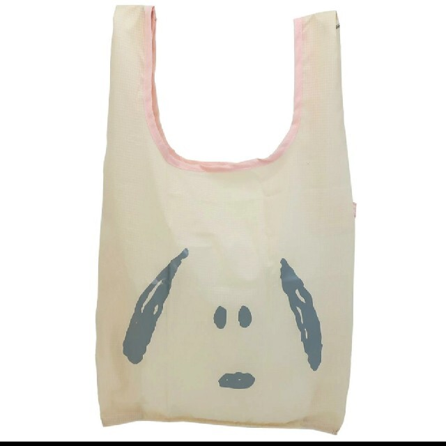 SNOOPY(スヌーピー)のりぼん様専用 スヌーピー エコバッグ 折りたたみ  新品未使用 レディースのバッグ(エコバッグ)の商品写真