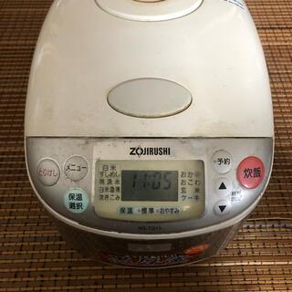 ゾウジルシ(象印)のZOJIRUSHI NS-TG10-XA 象印 炊飯器 準ジャンク品(炊飯器)