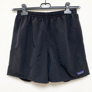 パタゴニア(patagonia)の美品 19SS パタゴニア バギーズ ショーツ メンズ 5インチ ブラック S(ショートパンツ)