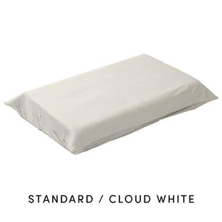 ブレインスリープピローカバー(オーガニックスリープ) クラウドホワイト
