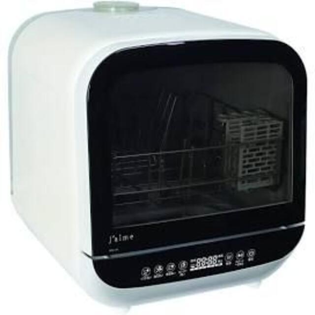 【ジャンク品】 食器洗い乾燥機 Jaime タンク式 ホワイト SDW-J5L スマホ/家電/カメラの生活家電(食器洗い機/乾燥機)の商品写真