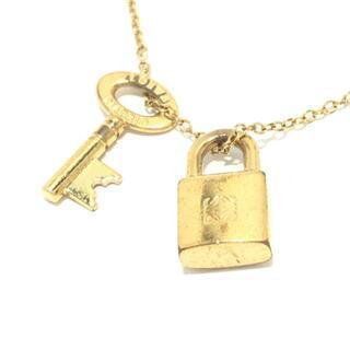 LOEWE - ロエベ ネックレス - 金属素材 ゴールド