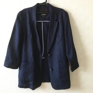シマムラ(しまむら)のkoto様専用ページ、リネン ジャケット・レディースMサイズ(テーラードジャケット)