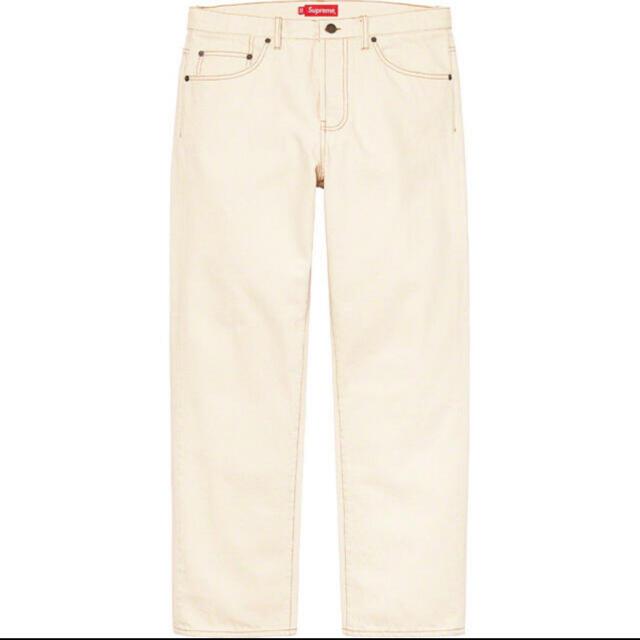 Supreme(シュプリーム)のSupreme Regular Jean Natural 30 S シュプリーム メンズのパンツ(デニム/ジーンズ)の商品写真