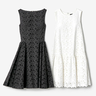 "FOXEY - フォクシー 刺繍レース ホワイトドレス ""Nerine"""