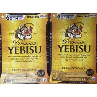 EVISU - エビスビール 350ml 48本 2ケース
