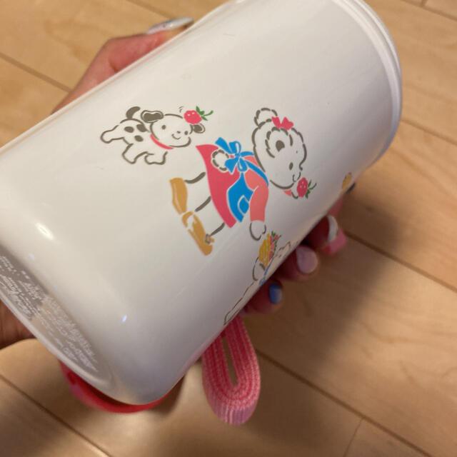 familiar(ファミリア)の新品未使用ファミリア 2way水筒大口コップと直飲みお茶入れ幼稚園お出かけ保育園 キッズ/ベビー/マタニティの授乳/お食事用品(水筒)の商品写真