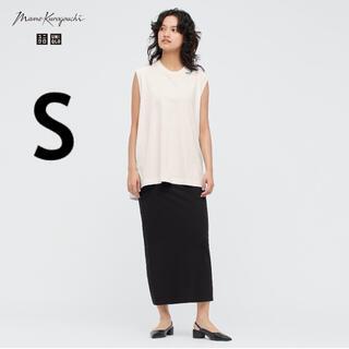 UNIQLO - UNIQLO Mame Kurogouchi エアリズムコットンスリットスカート