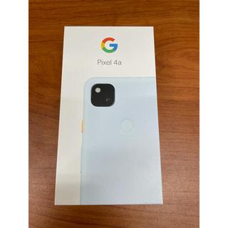 Google Pixel - pixel 4a Barely Blue 128GB 新品未開封