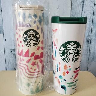 スターバックスコーヒー(Starbucks Coffee)の【福袋】ステンレス タンブラー スターバックス 2本 セット(タンブラー)