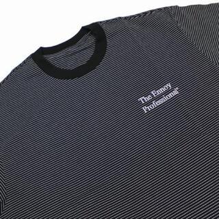 1LDK SELECT - ENNOY エンノイ ボーダーTシャツ 黒 XL