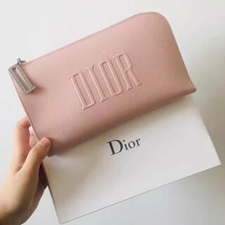 Dior - ディオール ノベルティ ポーチ サクラピンク
