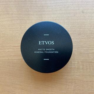 エトヴォス(ETVOS)のエトヴォス マットスムース ミネラルファンデーション #35(ファンデーション)