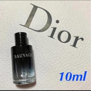 Dior - 新品未使用☆ ディオール ソヴァージュ  オードトワレ 10ml