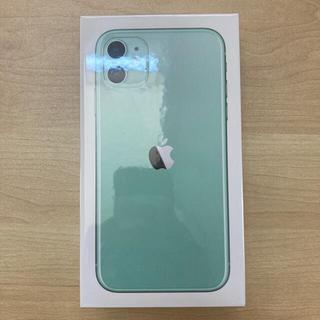 Apple - iPhone11 グリーン64GB SIMロック解除済【新品】