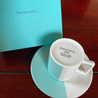 Tiffany & Co. - ティファニー カラーブロック デミタスカップ
