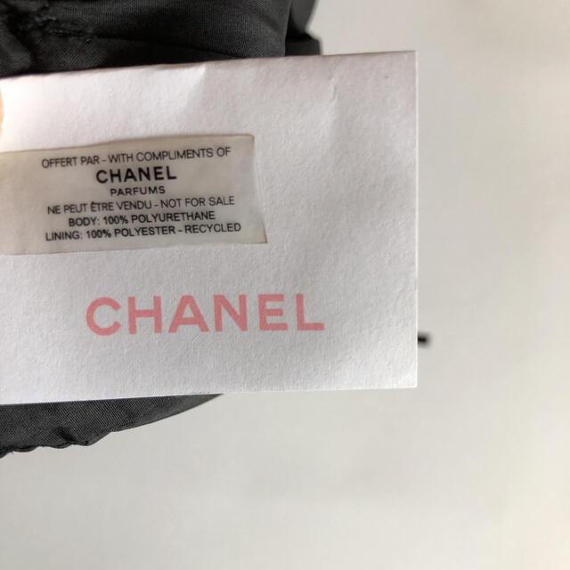 CHANEL(シャネル)のシャネル 2020年最新 PARFUMS  ノベルティ ポーチ ブラック 箱付き レディースのファッション小物(ポーチ)の商品写真