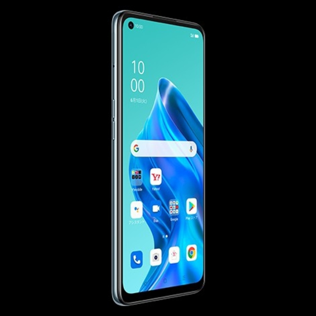 OPPO(オッポ)の●新品未開封SIMフリー OPPO Reno5 A アイスブルー 5G対応 スマホ/家電/カメラのスマートフォン/携帯電話(スマートフォン本体)の商品写真