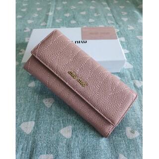 ミュウミュウ(miumiu)の素敵♬❀MIUMIU❀❥さいふ❀ミュウミュウ  小銭入れ  カード入れ ピンク (コインケース)