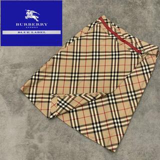 バーバリーブルーレーベル(BURBERRY BLUE LABEL)のBURBERRY バーバリー ブルーレーベル スカート ノバチェック ベルト付き(ミニスカート)
