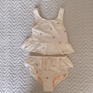 Caramel baby&child  - KongesSloejd 104/110 さくらんぼ柄 水着