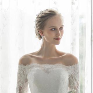 ウェディングドレス ボレロ