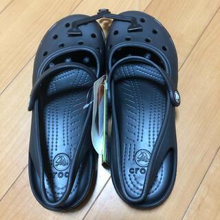 crocs - 《新品未使用》 クロックス レディースサンダル W9