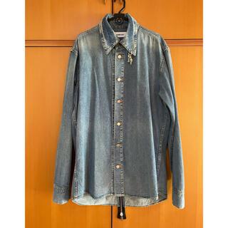 AMBUSH - 16SS バックジップデニムシャツジャケット