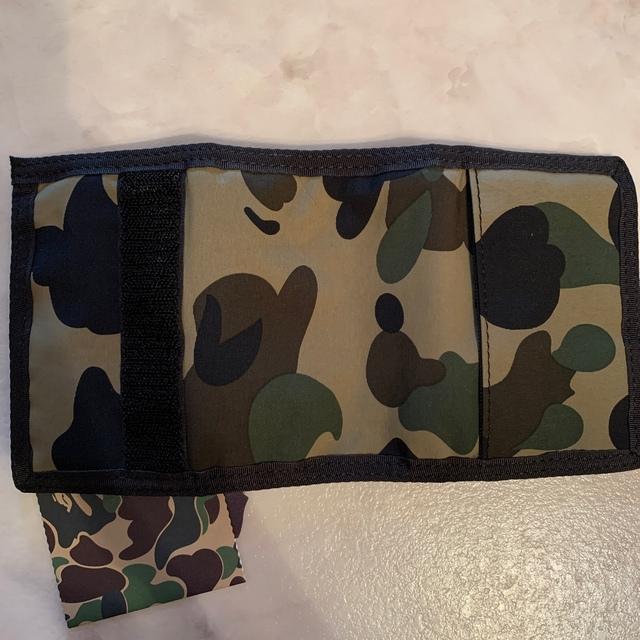 A BATHING APE(アベイシングエイプ)の新品 未使用 BAPE 三つ折り財布 ウォレット デッドストック メンズのファッション小物(折り財布)の商品写真