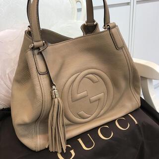 Gucci - ☆超美品☆GUCCI ソーホー インターロッキングG トートバッグ ショルダー