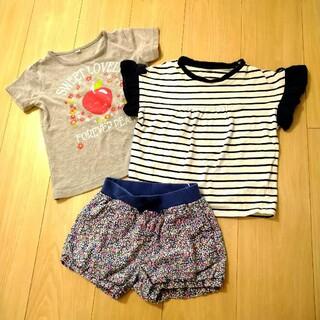 ニシマツヤ(西松屋)の120 女の子 まとめ売り 西松屋 等(Tシャツ/カットソー)