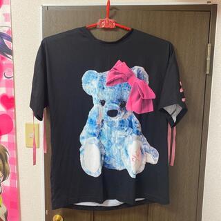 フーガ(FUGA)のTRAVASTOKYO♡リボンくまTシャツ(Tシャツ(半袖/袖なし))