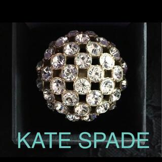 ケイトスペードニューヨーク(kate spade new york)の☆美品☆【KATE SPADE ケイトスペード】ビジューゴールドリング(リング(指輪))