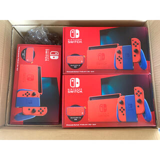 Nintendo Switch - 7台 スイッチ マリオ レッド×ブルー  マリオ レッド ブルー セット
