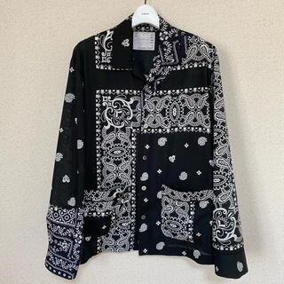 sacai - sacai Archive Print Mix Shirt