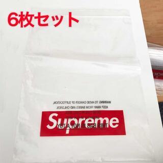 シュプリーム(Supreme)の6枚 Supreme Box Logo ショッパー ジップロック式(その他)