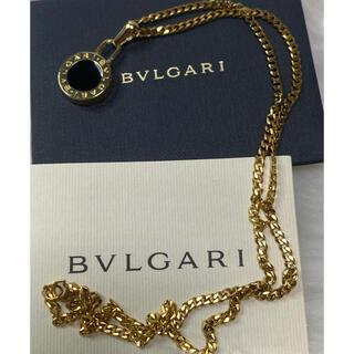ブルガリ(BVLGARI)の【正規新品】BVLGARI チャーム ペンダント ネックレス +革紐 チェーン(ネックレス)