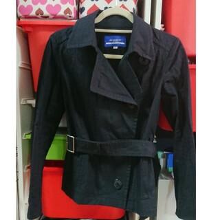 バーバリー(BURBERRY)のBURBERRY スプリングコート 黒(スプリングコート)