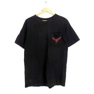 クロムハーツ(Chrome Hearts)のクロムハーツCHROME HEARTS■FOTIプリント胸ポケットTシャツ(Tシャツ/カットソー(半袖/袖なし))