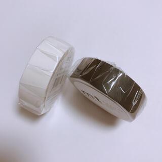 エムティー(mt)のmt  マットホワイト&マットブラック マスキングテープ(テープ/マスキングテープ)