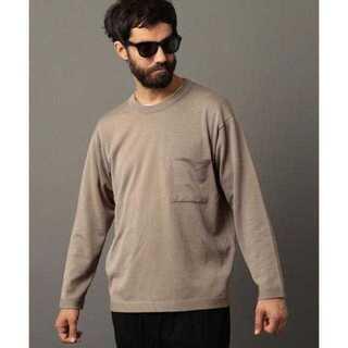 ビューティアンドユースユナイテッドアローズ(BEAUTY&YOUTH UNITED ARROWS)のBY コットン/シルク ワイドフォルム Tシャツ(Tシャツ/カットソー(七分/長袖))