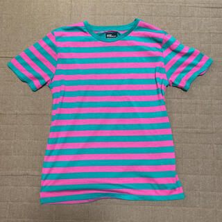 Graniph - グラニフ ネオンボーダーTシャツ