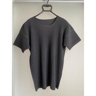 ISSEY MIYAKE - HOMME PLISSE ISSEY MIYAKE 半袖Tシャツ オムプリッセ
