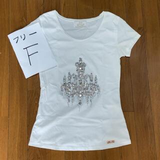レディー(Rady)のRady シャンデリア ビジュー トップス Tシャツ(Tシャツ(半袖/袖なし))