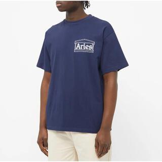 """アリエス(aries)のAries """"Aries CHI Tee"""" Navy L 新品未使用(Tシャツ/カットソー(半袖/袖なし))"""